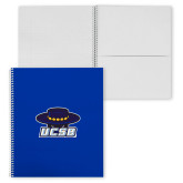 College Spiral Notebook w/Clear Coil-Primary