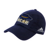 Adidas Navy Slouch Unstructured Low Profile Hat-Primary