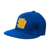 Royal OttoFlex Flat Bill Pro Style Hat-Interlocking SB