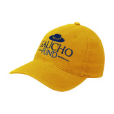 Gold OttoFlex Unstructured Low Profile Hat-Gaucho Fund