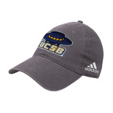 Adidas Charcoal Slouch Unstructured Low Profile Hat-Primary