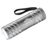 Astro Silver Flashlight-Primary Engraved