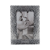 Silver Textured 4 x 6 Photo Frame-UCSB Engraved, Personalized