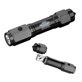 Heavy Duty Black Flashlight/Emergency Tool-Primary Engraved