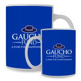 Full Color White Mug 15oz-Gaucho Fund - A Fund For Champions