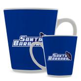 Full Color Latte Mug 12oz-Santa Barbara with Hat