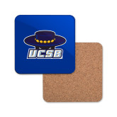Hardboard Coaster w/Cork Backing-Primary