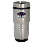 Rolling Ridges Silver Stainless Tumbler-Primary