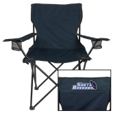 Deluxe Navy Captains Chair-Santa Barbara with Hat