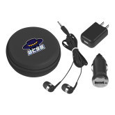 3 in 1 Black Audio Travel Kit-Primary