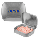Silver Rectangular Peppermint Tin-UCSB