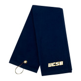 Navy Golf Towel-UCSB