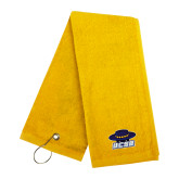 Gold Golf Towel-Primary