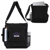 Impact Vertical Black Computer Messenger Bag-Primary