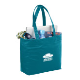 Fine Society Teal Computer Tote-Primary