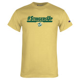 Champion Vegas Gold T Shirt-#StingersUp