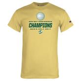 Champion Vegas Gold T Shirt-2017 Big Sky Conference Mens Golf