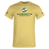 Champion Vegas Gold T Shirt-Official Logo