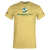 Champion Vegas Gold T Shirt-Stacked Logo