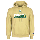 Champion Vegas Gold Fleece Hoodie-2017 Western Athletic Conference Baseball Champions