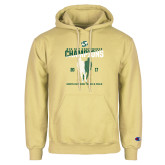 Champion Vegas Gold Fleece Hoodie-2017 Big Sky Conference Mens Outdoor Track and Field Champions