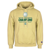 Champion Vegas Gold Fleece Hoodie-2017 Big Sky Conference Mens Golf