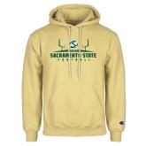 Champion Vegas Gold Fleece Hoodie-Sacramento State Football w/ Field