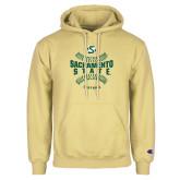 Champion Vegas Gold Fleece Hoodie-Sacramento State Hornets Softball w/ Seams