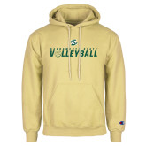 Champion Vegas Gold Fleece Hoodie-Sacramento State Volleyball Flat