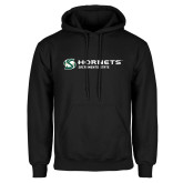Black Fleece Hoodie-Official Logo Flat