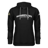 Adidas Climawarm Black Team Issue Hoodie-Arched Sacramento State Hornets