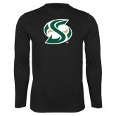Performance Black Longsleeve Shirt-S Mark