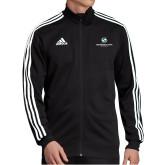 Adidas Black Tiro 19 Training Jacket-Stacked Logo
