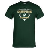 Dark Green T Shirt-2017 Western Athletic Conference Baseball Champions