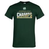 Dark Green T Shirt-2017 Big Sky Conference Womens Golf
