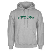 Grey Fleece Hoodie-Arched Sacramento State Hornets