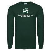 Dark Green Long Sleeve T Shirt-Grandpa