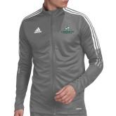Adidas Grey Tiro 19 Training Jacket-Official Logo