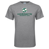 Grey T Shirt-Official Logo
