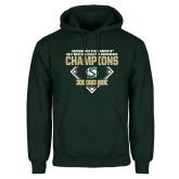 Dark Green Fleece Hood-2017 Western Athletic Conference Baseball Champions