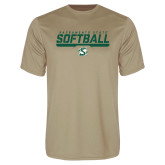 Performance Vegas Gold Tee-Sacramento State Softball Stencil