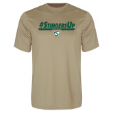 Performance Vegas Gold Tee-#StingersUp