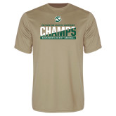 Performance Vegas Gold Tee-2017 Western Athletic Conference Baseball Champions