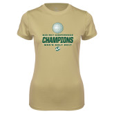 Ladies Syntrel Performance Vegas Gold Tee-2017 Big Sky Conference Mens Golf