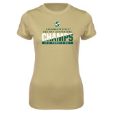 Ladies Syntrel Performance Vegas Gold Tee-2017 Big Sky Conference Womens Golf