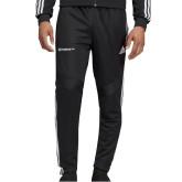 Adidas Black Tiro 19 Training Pant-Official Logo Flat