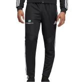 Adidas Black Tiro 19 Training Pant-Stacked Logo