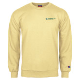 Champion Vegas Gold Fleece Crew-Official Logo Flat
