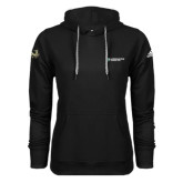 Adidas Climawarm Black Team Issue Hoodie-Official Logo Flat