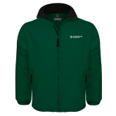 Dark Green Survivor Jacket-Official Logo Flat